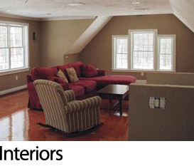 Interior wall painting in Brookfield, MA
