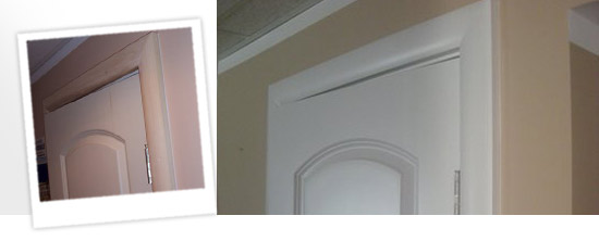 refinish and paint doors around Worcester, MA